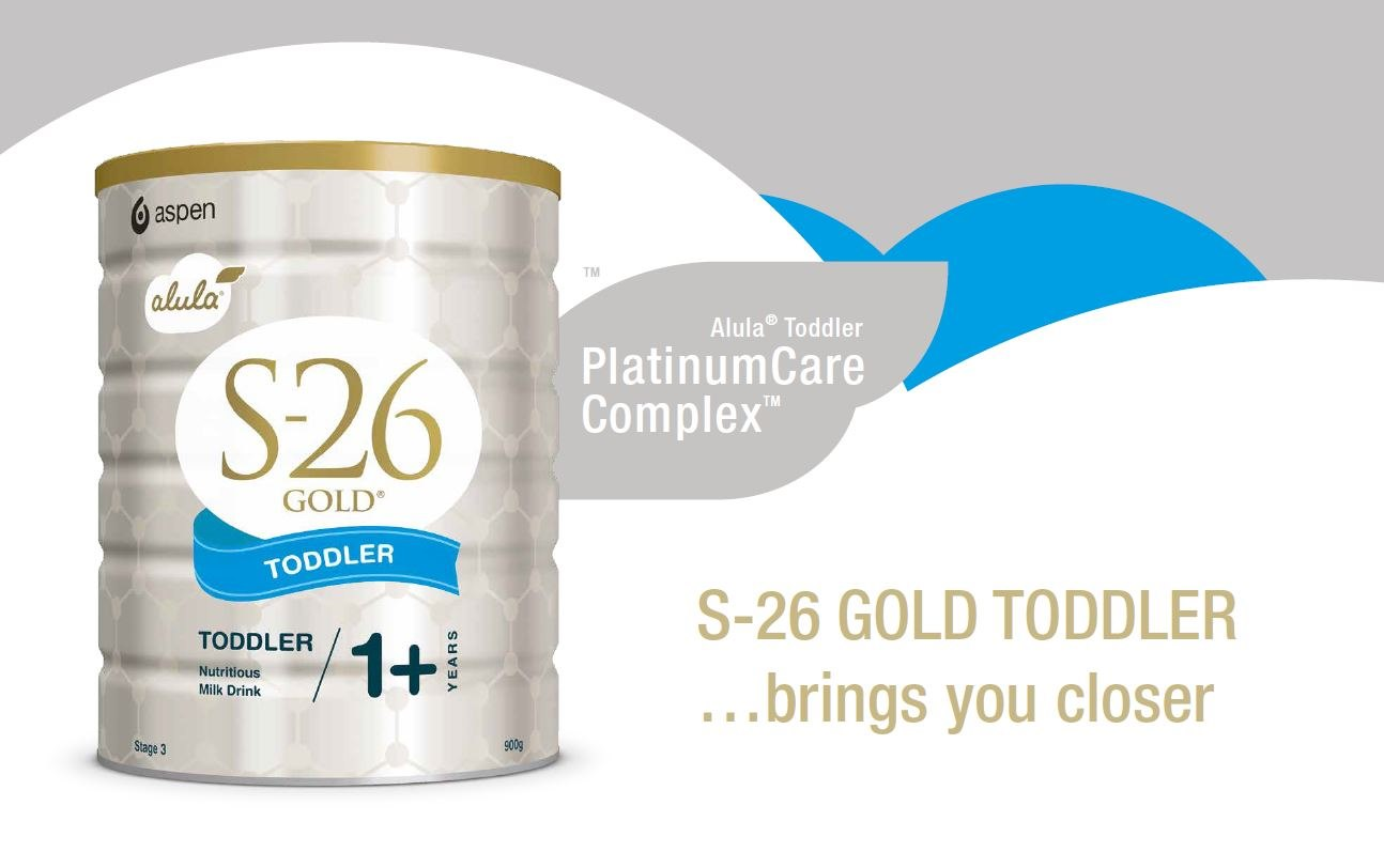 S-26 GOLD TODDLER ..Brings You Closer