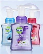 :Dettol Touch of Foam