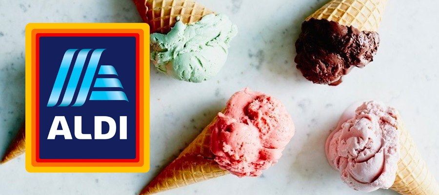 ALDI Ice Cream and Desserts