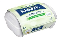 :Kleenex® Cottonelle® Flushable Cleansing Cloths