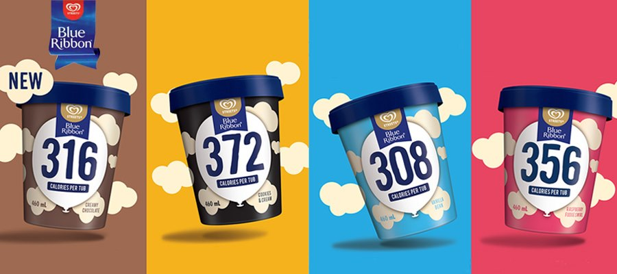 Blue Ribbon 308 - 372 ice cream