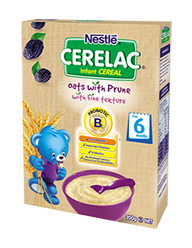 Nestlé CERELAC Infant cereal Oats with Prune