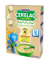 :Nestlé CERELAC Infant cereal Muesli Pear
