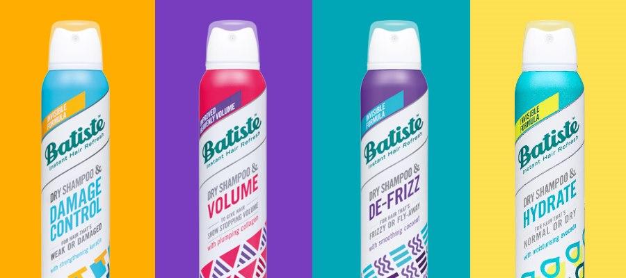 New Batiste Dry Shampoo