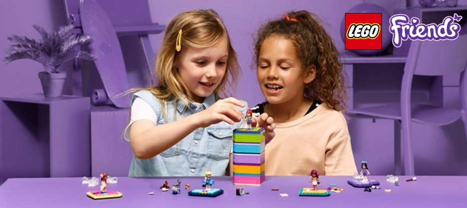 :Lego Friends Heart Box